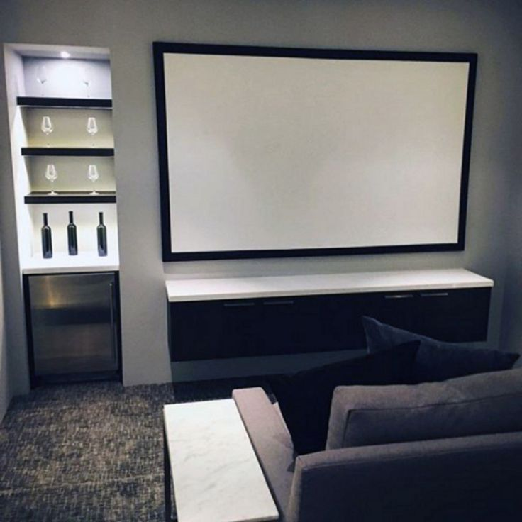 Cozy Home Theater: Cozy Small Movie Room Design Ideas For Your Happiness