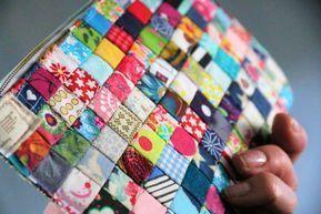 Nähanleitung: Tasche aus Stoffresten nähen – Birgit