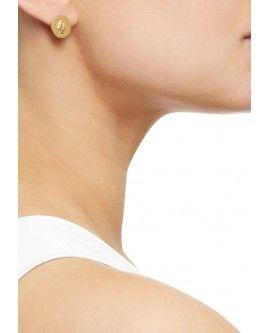 Gold Hand of Fatima Earrings