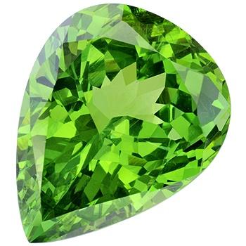Green Zircon from Madagascar