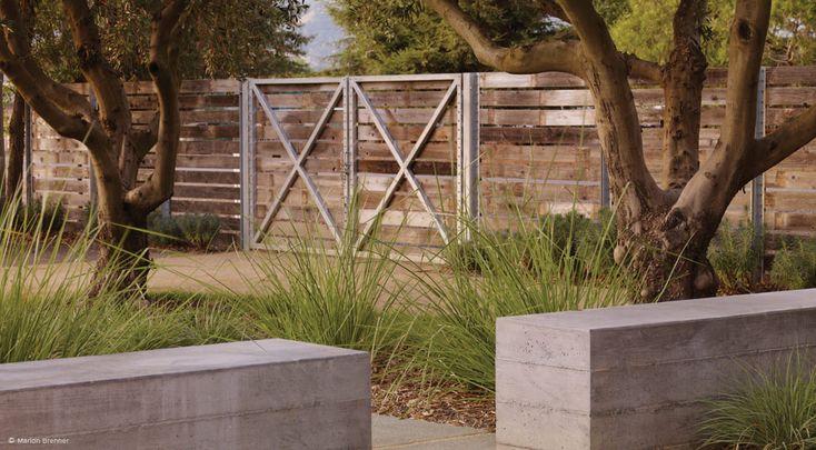 131 best fences gates images on pinterest landscaping for Nelson byrd woltz landscape architects