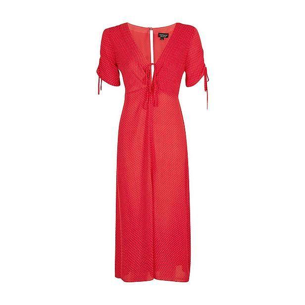 Een rode zomerjurk staat hoog op mijn wensenlijstje. #jurk #rood #zwierig