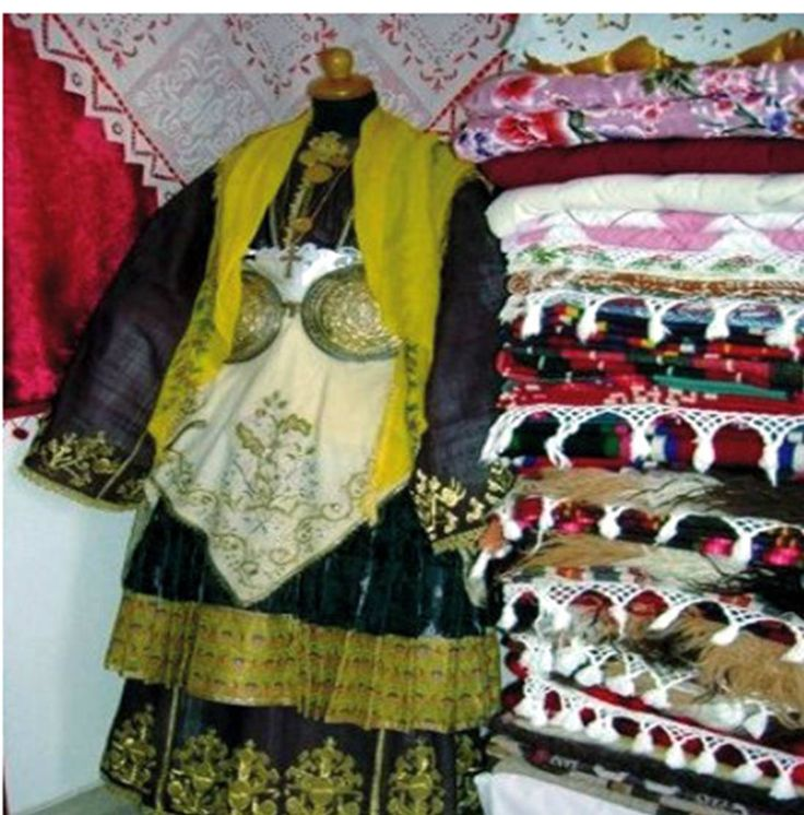 Traditional outfit of central greece Pelio Trikeri