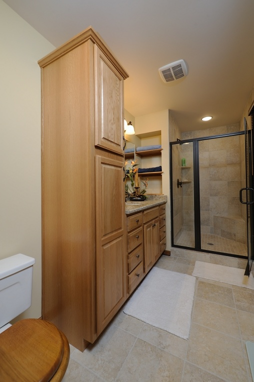 bathroom remodel project by dehaan remodleing specialists kalamazoo mi