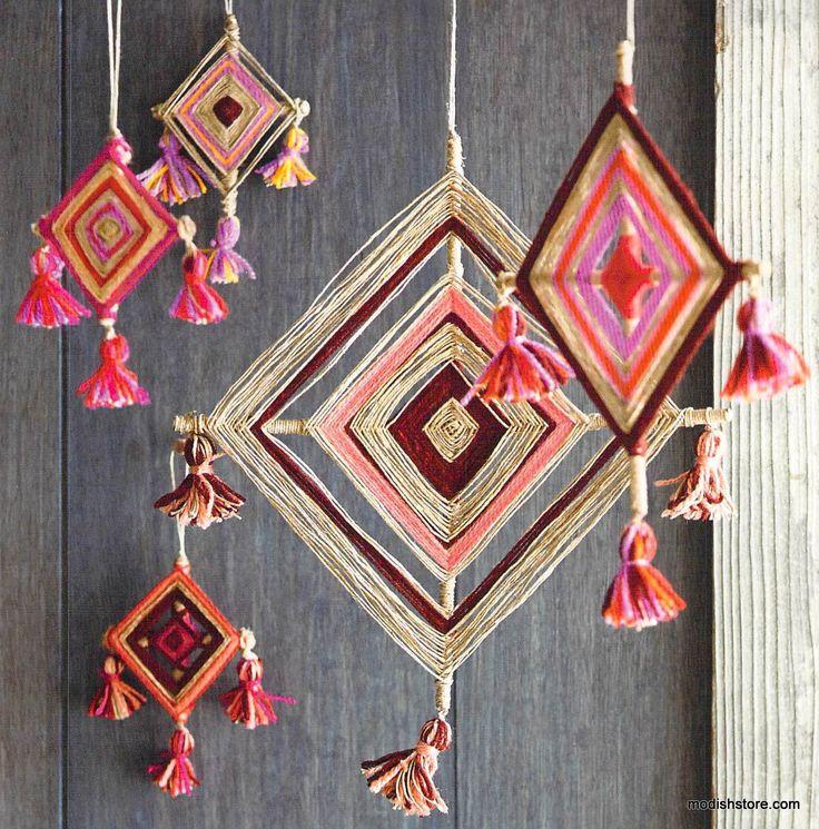 Roost God's Eye Ornaments