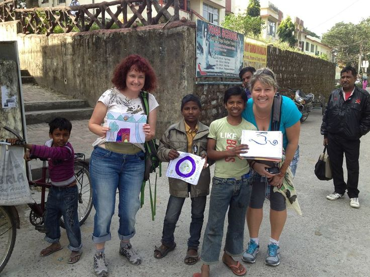 http://taojourneys.com/journey-to-india Buying street art from the local kids in Rishikesh and supporting their endeavor to be budding entrepreneurs.