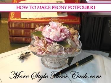 How to Make Peony Potpourri
