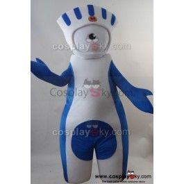Les Jeux olympiques d'été de 2012  Mandeville Mascotte  Costume