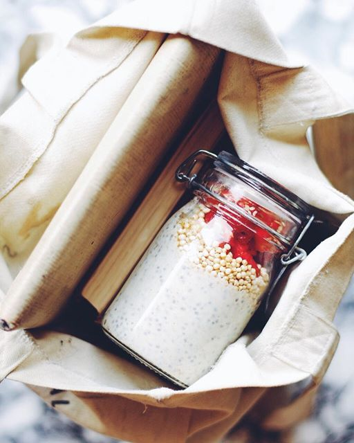 When in need of some brain food, make this: superseed porridge with flax and chia seed to get that brain working for exam prep season!