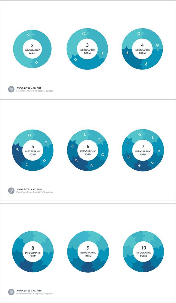 Download: http://site2max.pro/circular-infographic-key-template/  Circular infographic key template #circle #circular #infographic #key #keynote #slide #marketing