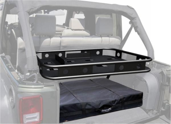 All Things Jeep - Rear Sport Rack, Interior Mount, Fold up, (07-10) Jeep Wrangler JK Unlimited, 4 Dr only