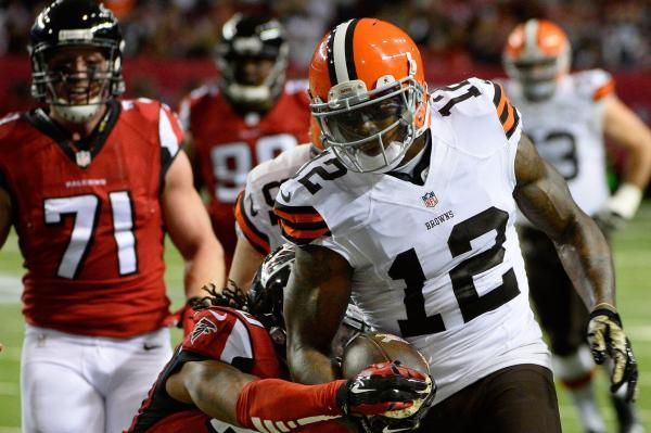 NFL commissioner Roger Goodell has reinstated Cleveland Browns wide receiver Josh Gordon on a conditional basis.