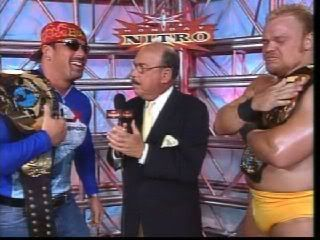 WCW World Tag Team Champions Shane Douglas & Buff Bagwell