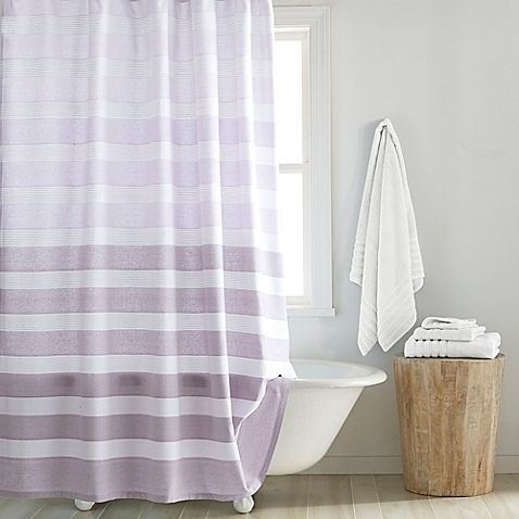 Croscill® Highline Shower Curtain in Purple. $40 BB&B.