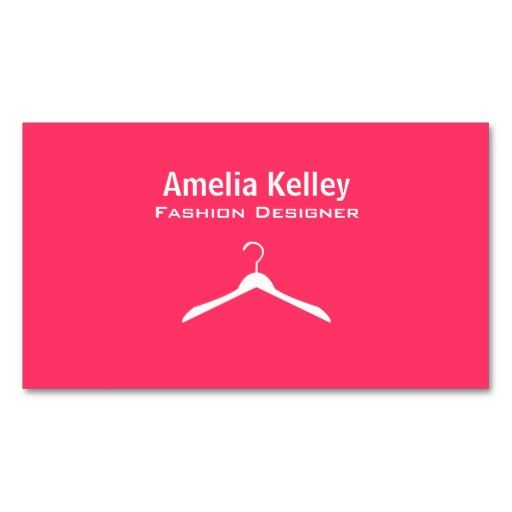 Fashion Designer Business Cards | Dry Cleaning Business Cards ...