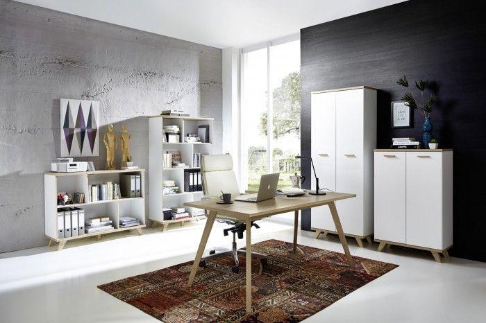 Moderní regál Oslo nabízí velké množství otevřeného úložného prostoru. Svým moderním, ale přesto velice neutrálním designem se skvěle hodí do každého...