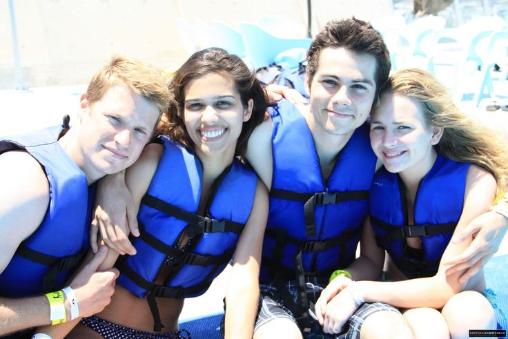"kaysunshine: "" Dylan O'Brien and Britt Robertson personal photos source i know…"