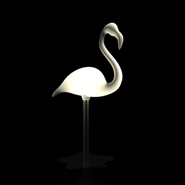 Flamingo lamp by Mattia Masi