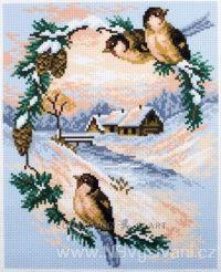 CDA-0734 Ptáčci v zimě
