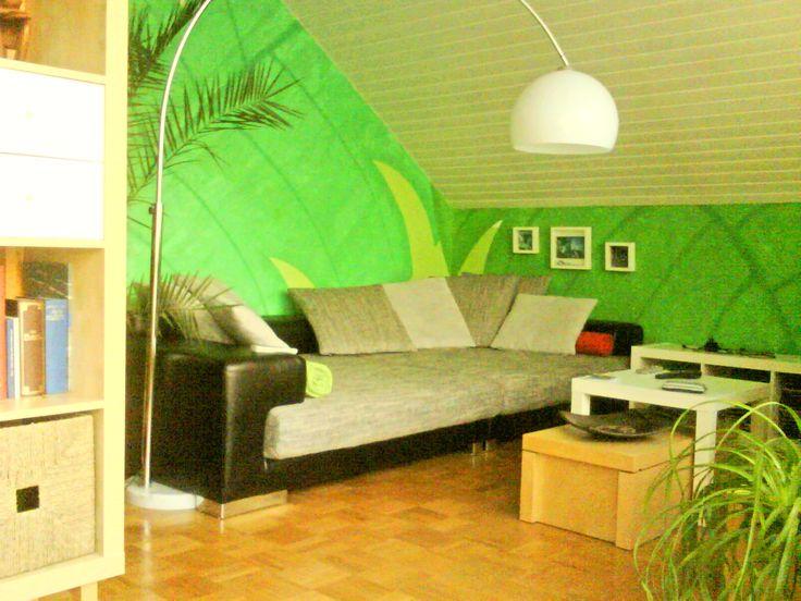 #coutch #sofa #living #gruen #green #ikea #wohnen #selfmade