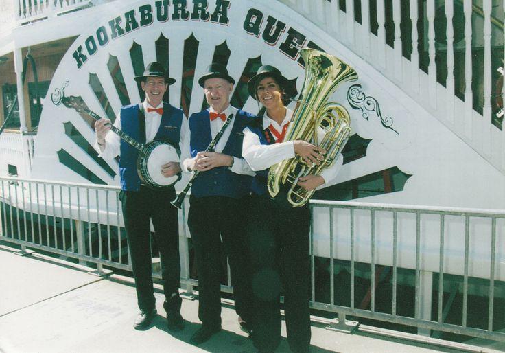 Paradise City Jazz Trio on board the Kookaburra River Queens.   www.kookaburrariverqueens.com