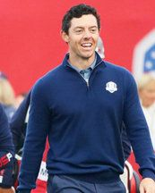 Ryder Cup Rory McIlroy has One Direction singer following his round - Daily Star