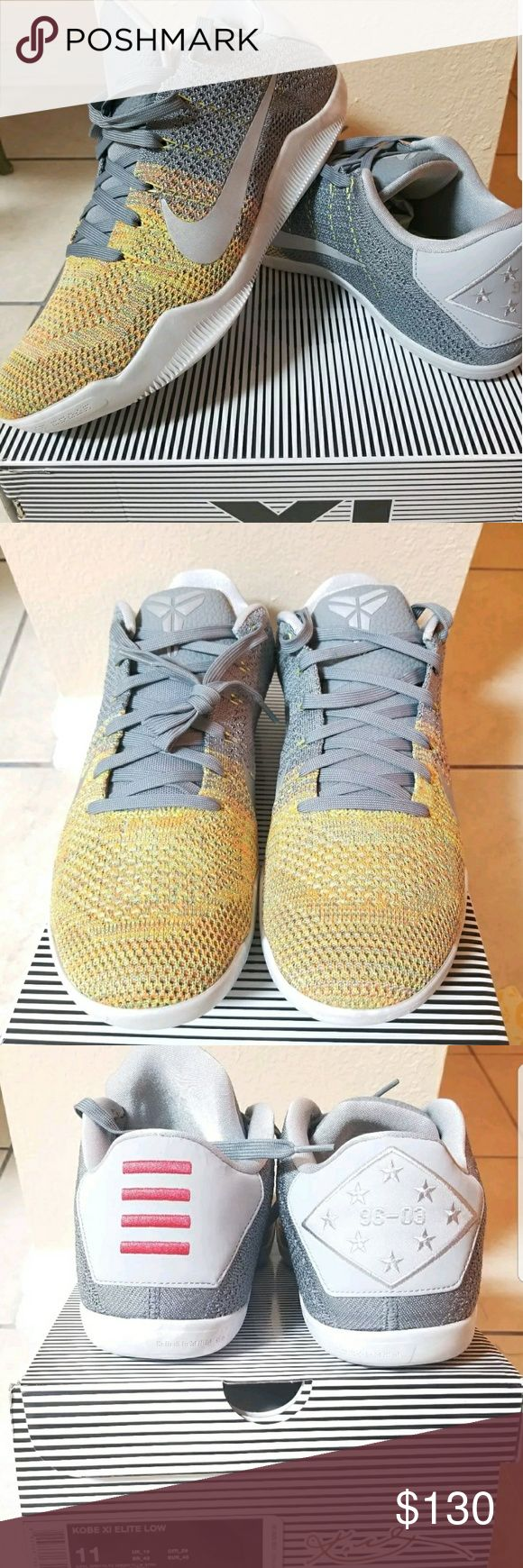 """Nike Kobe 11 (XI) Elite Low """"Master of Innovation"""" Nike Kobe 11 (XI) Elite Low """"Master of Innovation"""" size 11. Shoes are mint new in box. Buy with confidence. Thanks for looking! Nike Shoes Sneakers"""