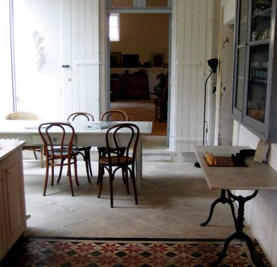 Love the Thonet chairs. Inspires me to display the same ones that were in my husband's great grandfather's Utah lodge.