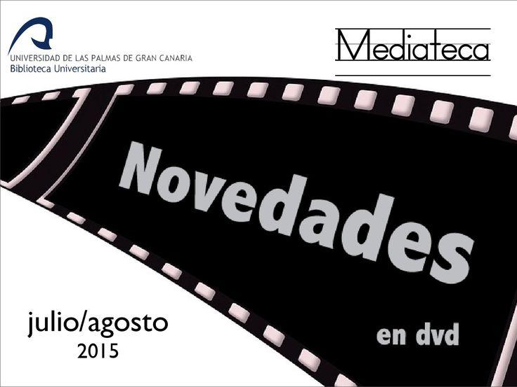Selección de las películas incorporadas recientemente a nuestro catálogo de DVDs de la Biblioteca Universitaria. Carteles originales en su mayoría. También se incluye el título en castellano y la signatura suplementaria para su localización inmediata en el Servicio de Mediateca.