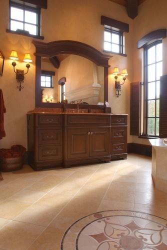 Master Bathroom Mediterranean bathroom - WOW!!!