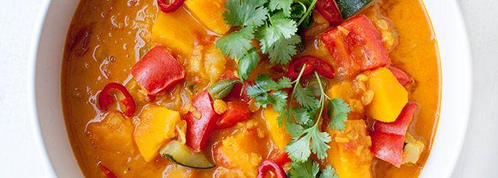 Wegańskie curry z dynią i soczewicą   Blog   Kwestia Smaku