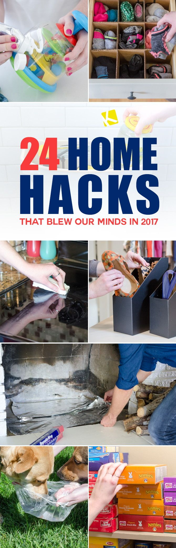 24 Home Hacks That Blew Our Minds in 2017