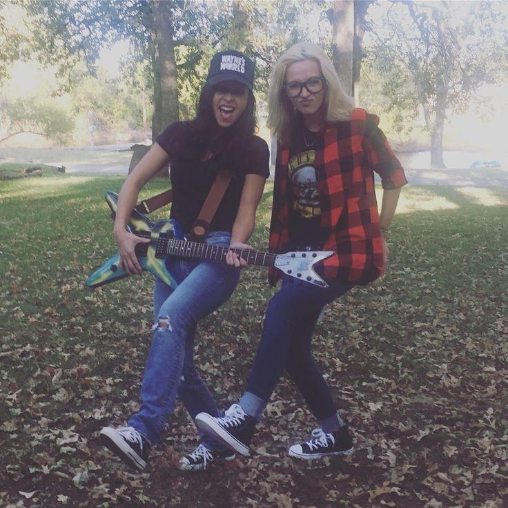 Wayne and Garth from Wayne's world Halloween costume
