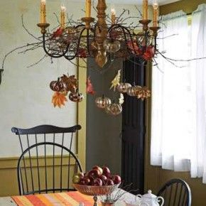 20 best 20 Fall Chandelier Decoration Ideas images on Pinterest ...