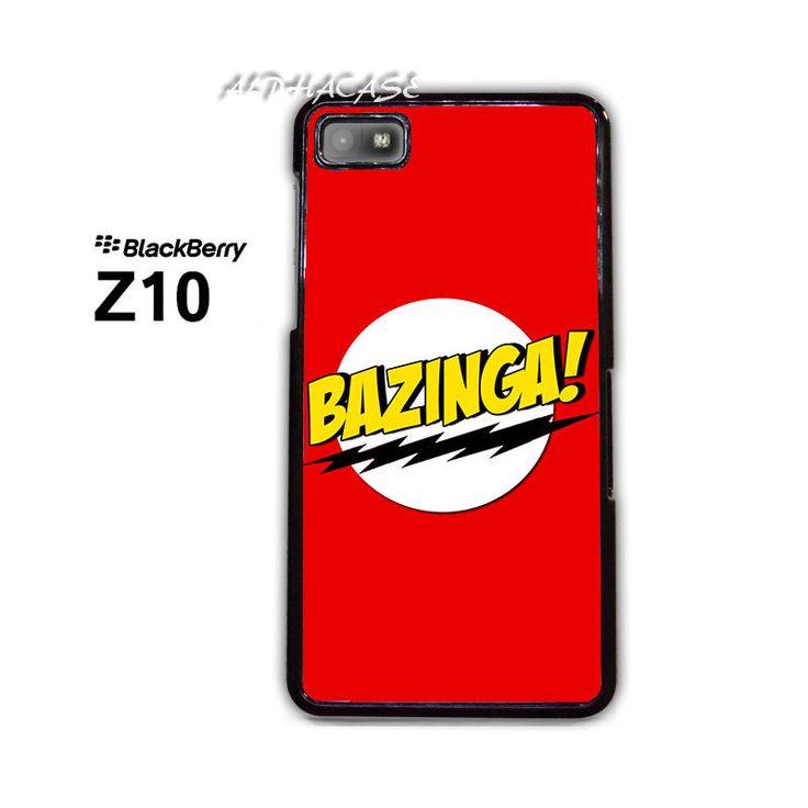 Bazinga BB BlackBerry Z10 Z 10 Case