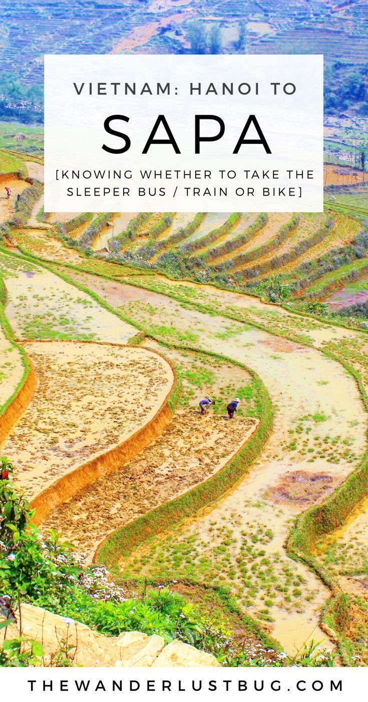 From Hanoi - Sapa, Vietnam. Telling you how to get between the two, featuring sleeper train, sleeper bus & moped. Click for more on Vietnam...