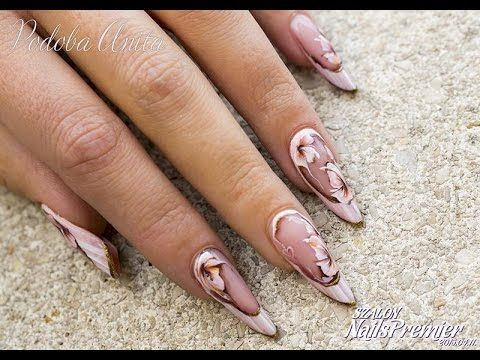 Szalon Nails Premier 2015 tavasz - Vintage Nail Design - Podoba Anita - YouTube