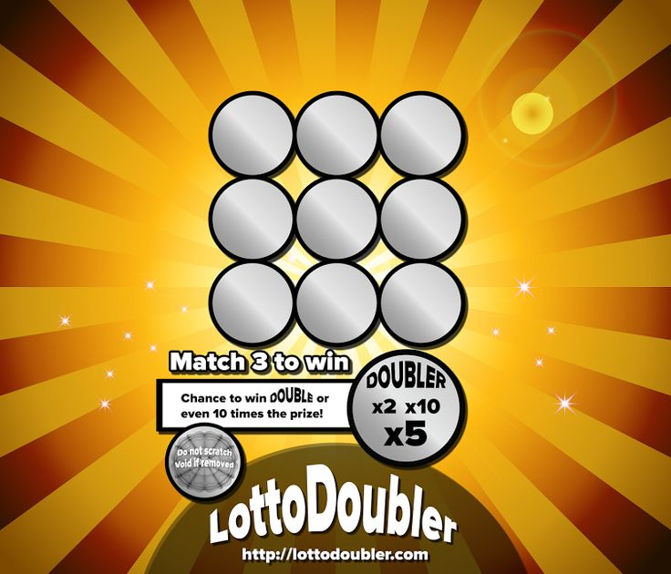 Double Your Winnings! Win up to 10 times! x2, x5, x10 It's all about the doubler! Lotto Doubler instant lottery   Blog http://blog.lottodoubler.com/2015/08/double-your-winnings-its-all-about_8.html   Twitter https://twitter.com/lottodoubler/status/629954717070835712   Facebook https://www.facebook.com/lottodoubler   Website http://lottodoubler.com   #suddenly #millionaire #scratch #scratchtickets #scratchgames #lotto #doubler #double #lottery #lottodoubler #instantlotte