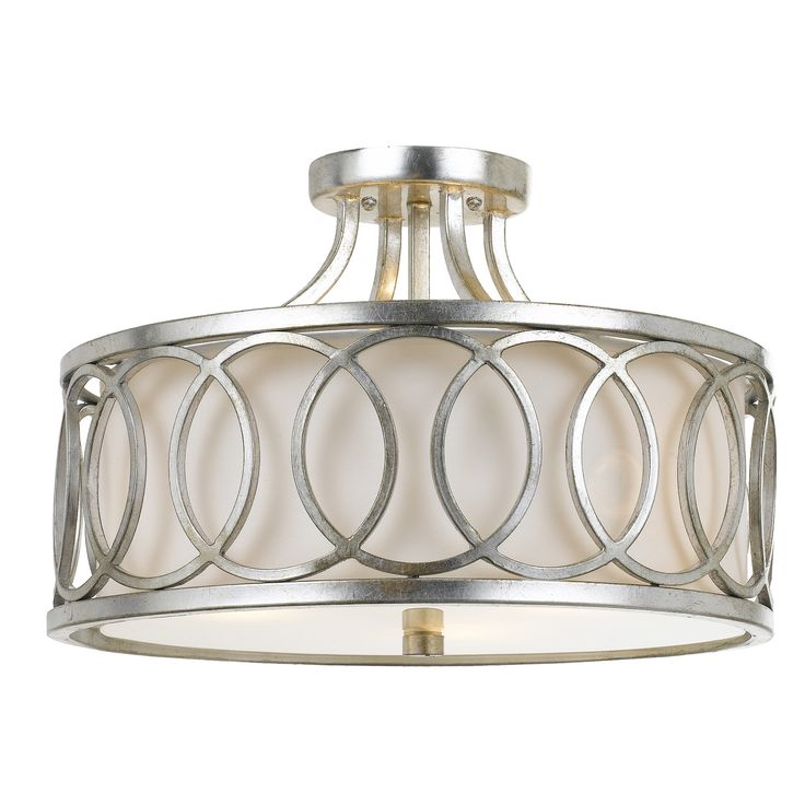 Frost 3 Light Semi-Flush Mount   Semi flush ceiling lights