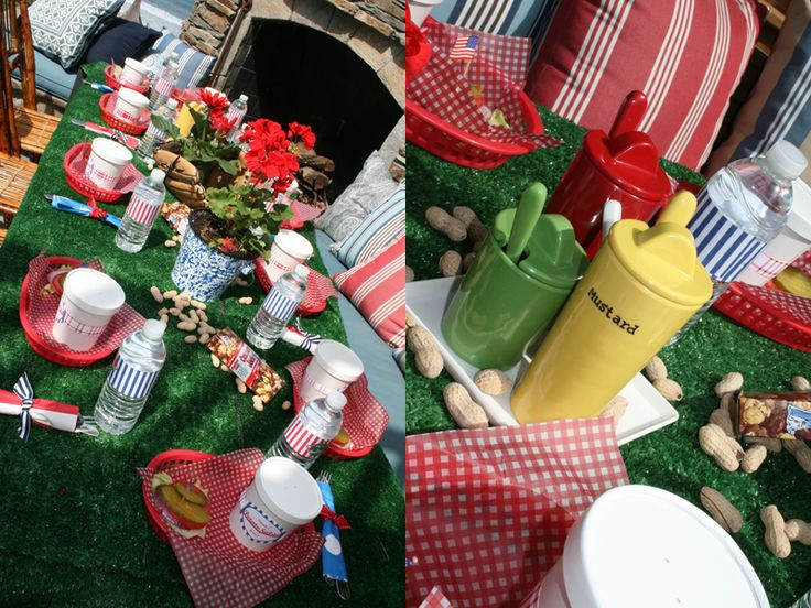 baseball themed party.... this one was a baby shower, fun decor ideas....