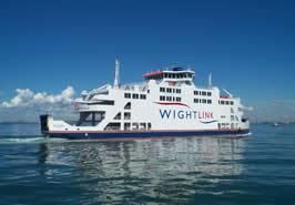 Ferry details from Lymington to Yarmouth on Isle of Wight. Can go as foot passengers from about £7 return