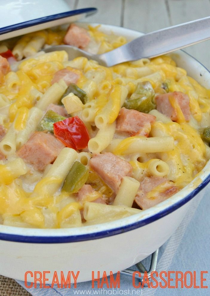"""The creamiest, most delicious spin on the popular """"Mac and Cheese"""" around ! Not only delicious, but quick and easy to make as well, using everyday ingredients and perfect for a weeknight dinner"""