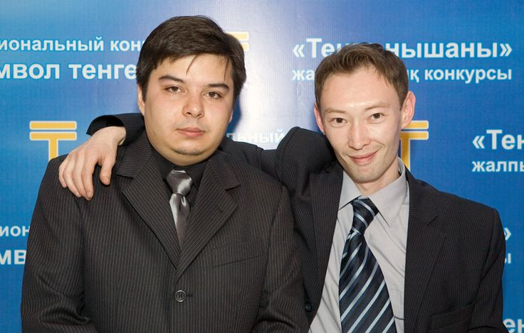 Вадим Давиденко и Санжар Амерханов