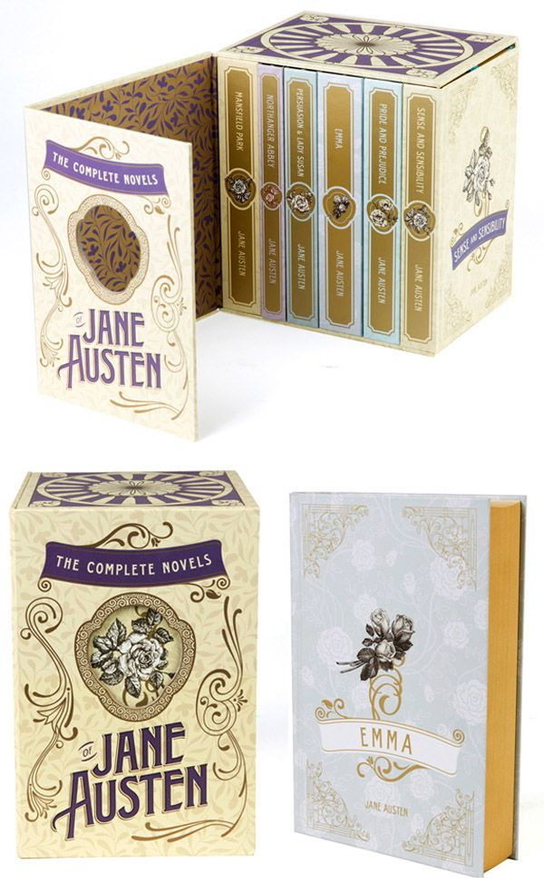 A box set of Jane Austen's complete novels ..I.want.this!