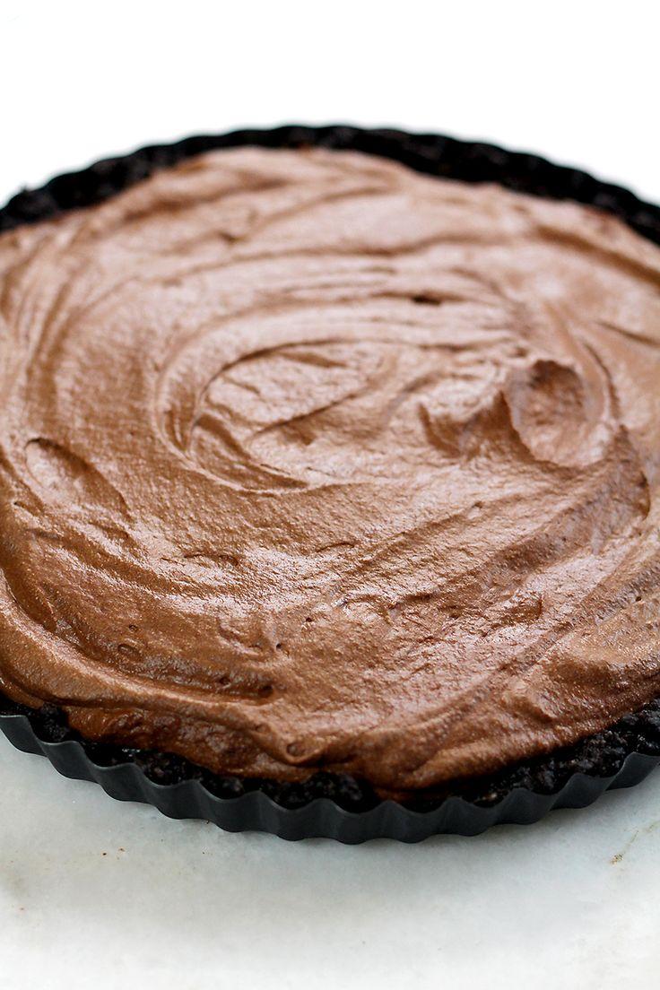 Genieten met Culy: no-bake chocolademoussetaart