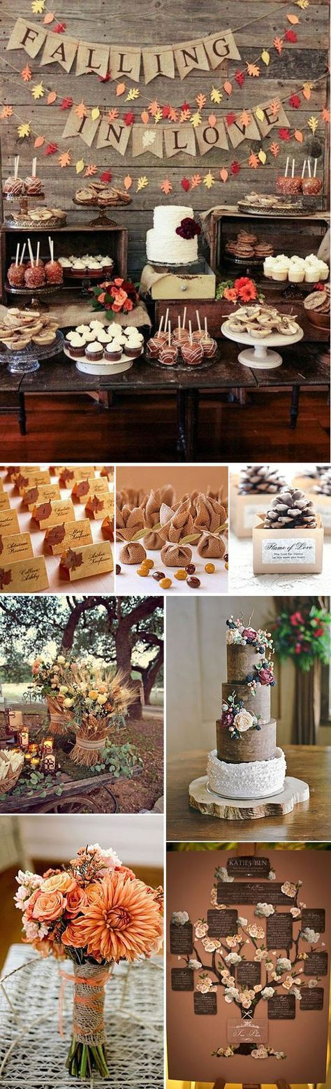 Bodas en Otoño – Ideas para decorar una boda en otoño: