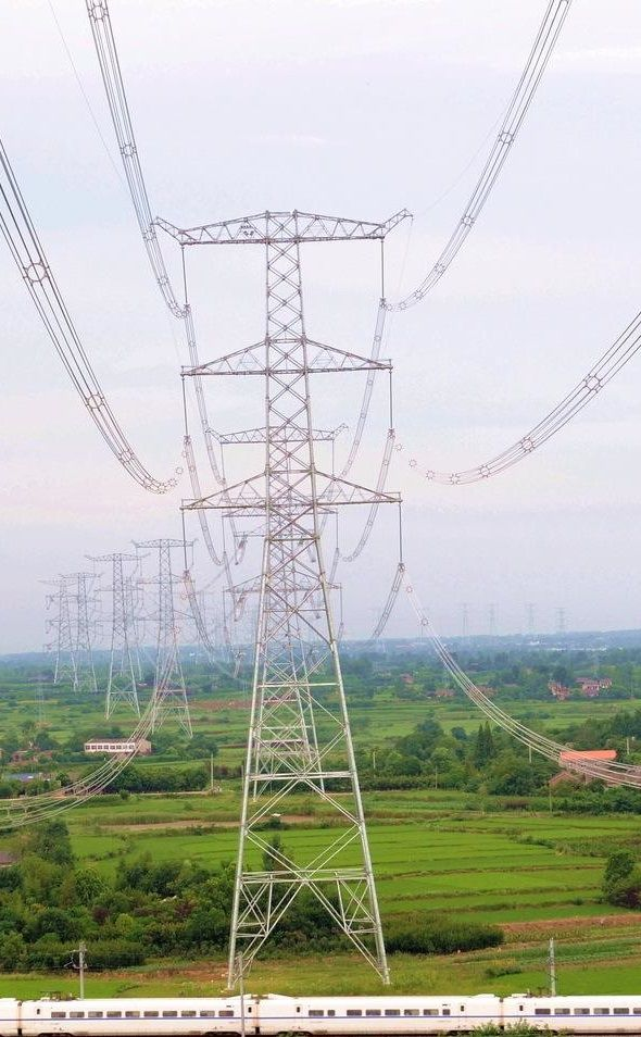 Pin Auf Electrical Transmission Towers