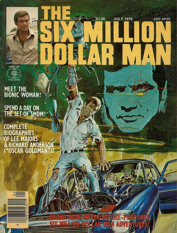17 Best images about Six million dollar man/bionic woman ...
