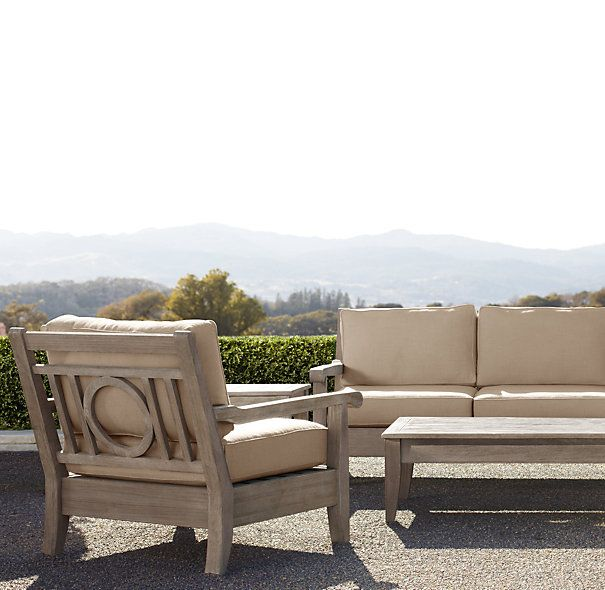 58 leagrave luxe sofa sofas restoration hardware for for Restoration hardware teak outdoor furniture