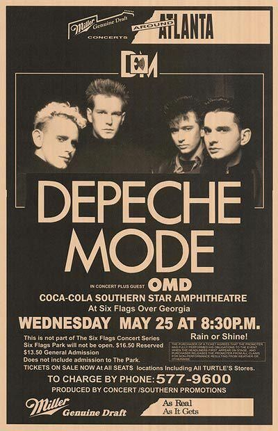 Depeche Mode at Fox Theatre (25 May 88) with OMD